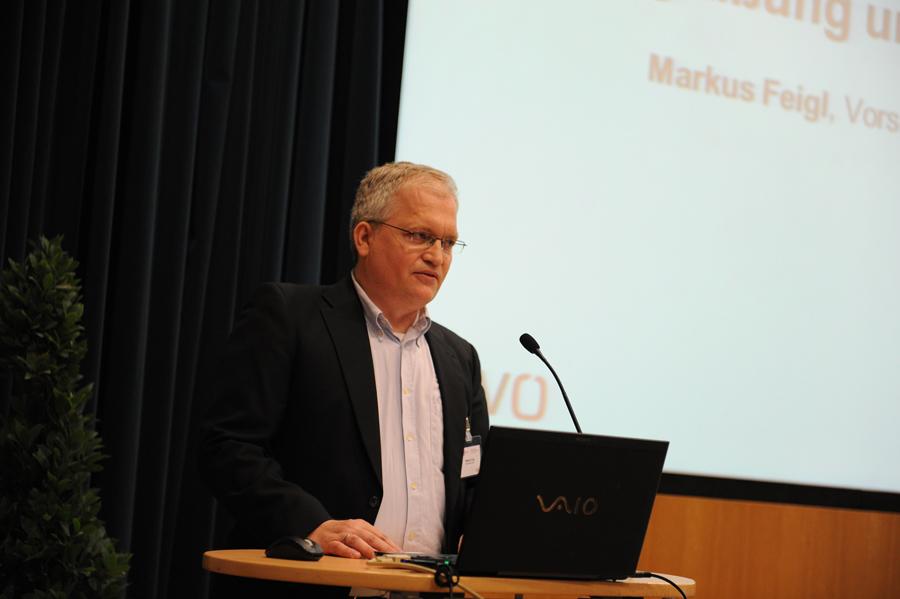 Konferenz: Eröffnung mit Markus Feigl_Copyright BVÖ/Michaela Bruckmüller