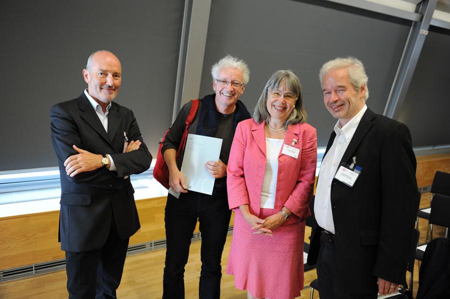 Konferenz: Otto Prantl, Reinhard Ehgartner, Uschi Swoboda und Gerhard Zechner_Copyright BVÖ/Michaela Bruckmüller