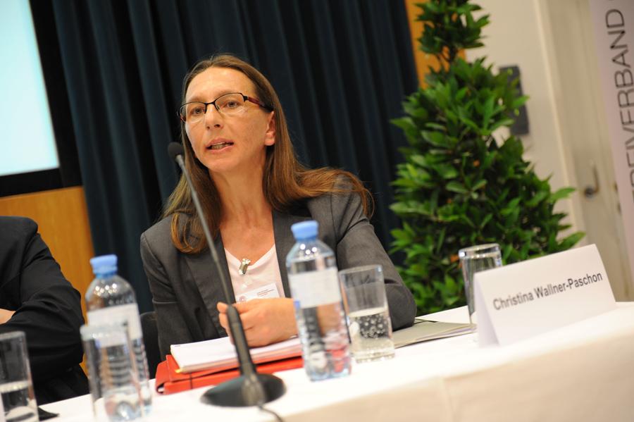 Konferenz: Podiumsdiskussion mit Christina Wallner-Paschon_Copyright BVÖ/Michaela Bruckmüller