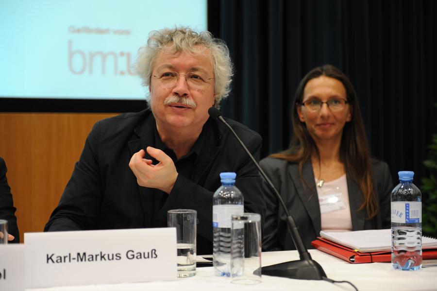 Konferenz: Podiumsdiskussion mit Karl-Markus Gauß und Christina Wallner-Paschon_Copyright BVÖ/Michaela Bruckmüller