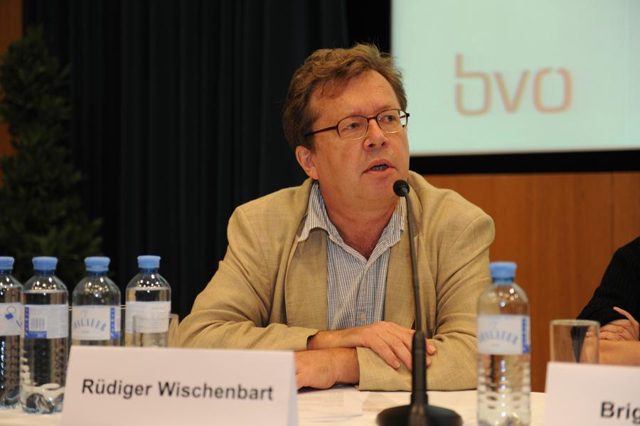 Konferenz: Podiumsdiskussion mit Rüdiger Wischenbart_Copyright BVÖ/Michaela Bruckmüller