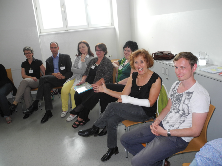 Konferenz: Workshop-Programm mit Gudrun Sulzenbacher und TeilnehmerInnen_Copyright BVÖ/Regina Koroschetz