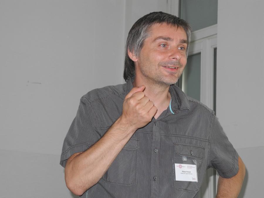 Konferenz: Workshop-Programm mit Klaus Nowak_Copyright BVÖ/Regina Koroschetz