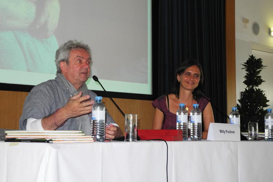 Konferenz: Workshop-Programm mit Willy Puchner und Silke Rabus_Copyright BVÖ/Regina Koroschetz