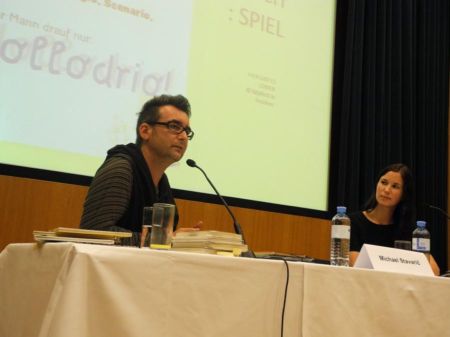 Konferenz: Workshop-Programm mit Michael Stavaric und Simone Kremsberger_Copyright BVÖ/Regina Koroschetz