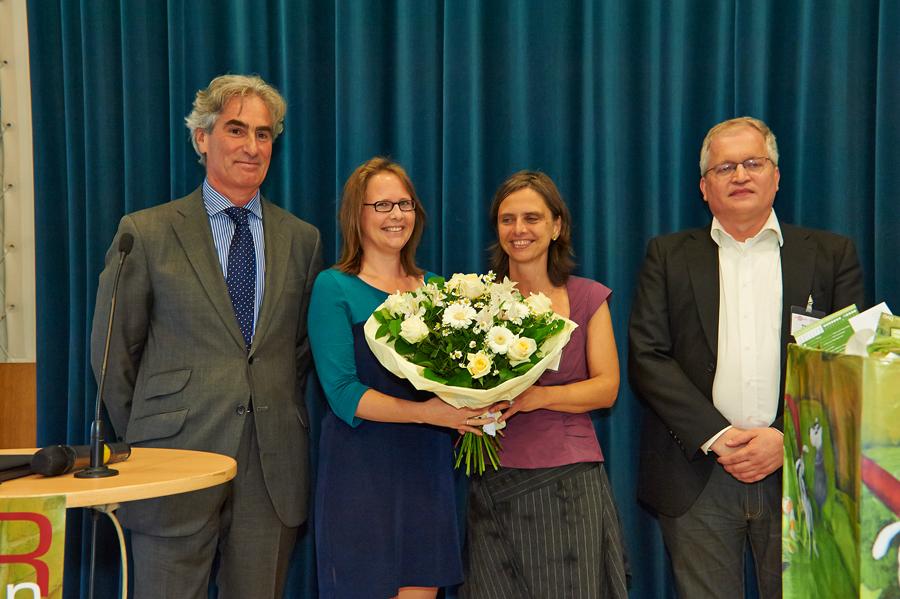 LESERstimmen-Preisverleihung: Gerald Leitner, Martina Reiter, Silke Rabus und Markus Feigl_Copyright BVÖ/Peter Kubelka