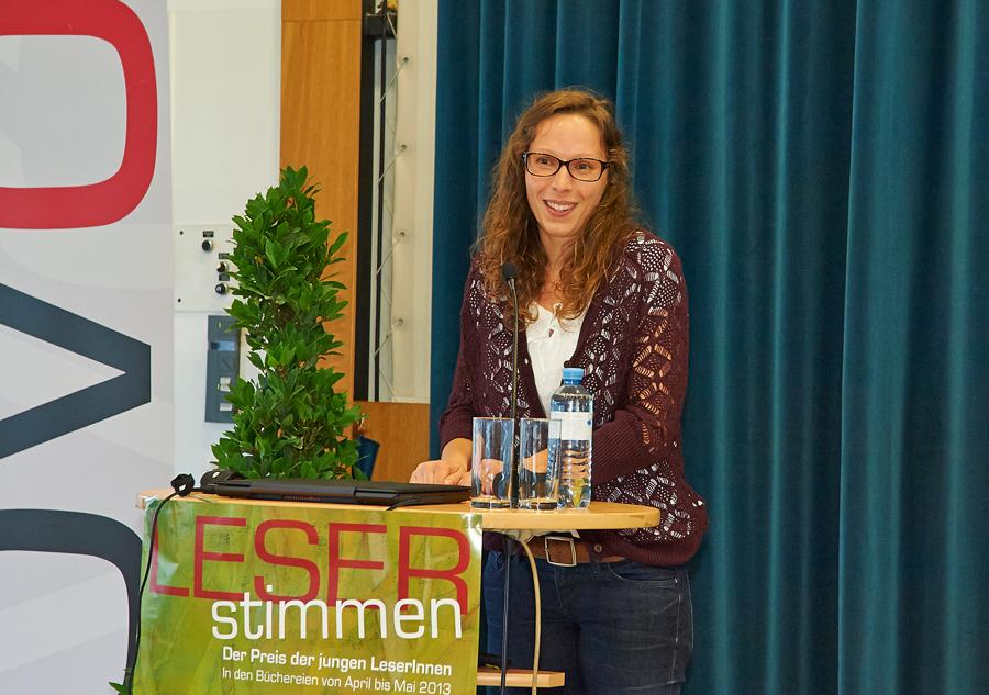 LESERstimmen-Preisverleihung: Michaela Holzinger_Copyright BVÖ/Peter Kubelka
